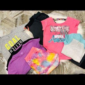 Girls athletic bundle size 10/12